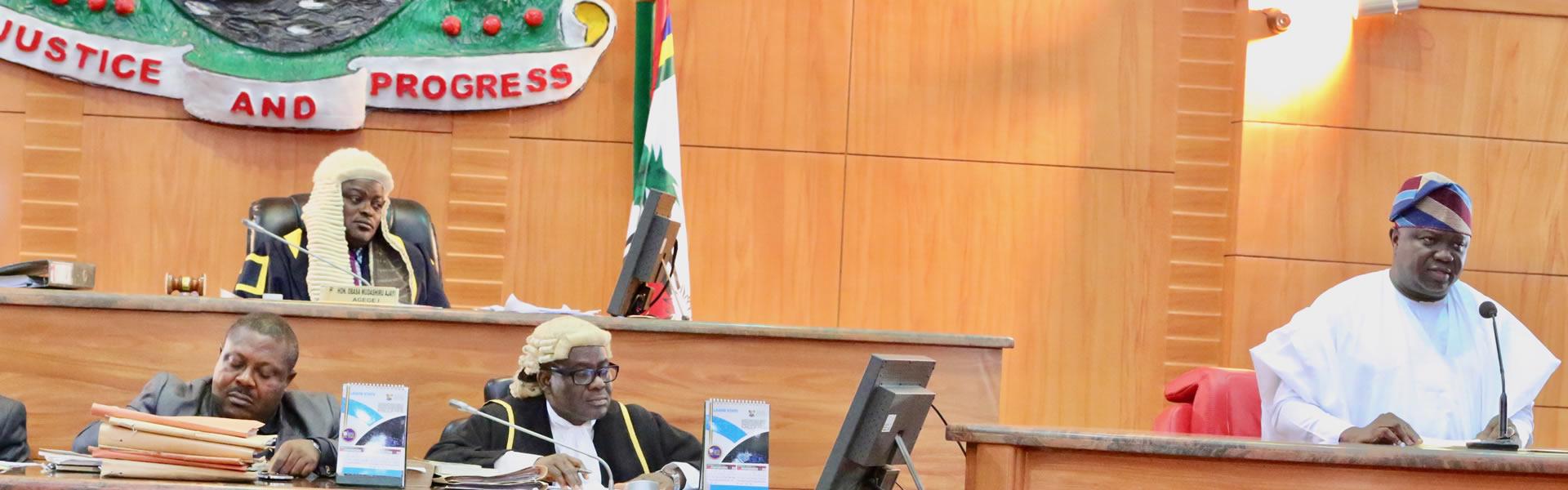Lagos Governor, Ambode Budgets N813 Billion For 2017