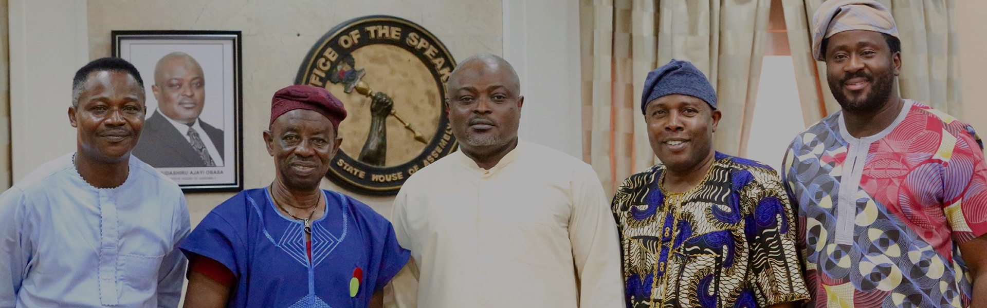 Tunde Kelani visits Assembly