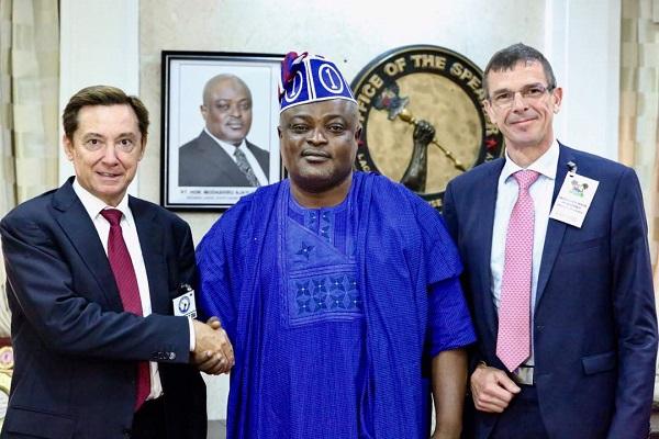 obasa and french ambassador
