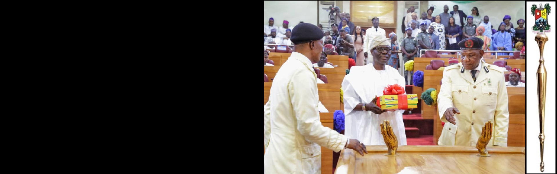 SANWO-OLU PRESENTS N1.168TRN Y2020 BUDGET ESTIMATES TO LAGOS ASSEMBLY.